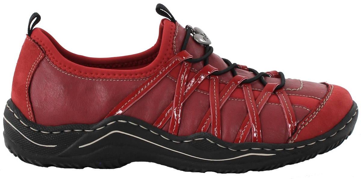 Rieker kävelykengät L0559-33 punainen - Kävelykengät - 118100 - 1 e788f97c43