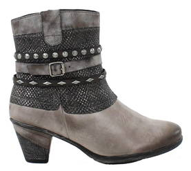 Rieker Remonte Ankle boots D8773-42 grey - Ankle boots - 116920 - 1