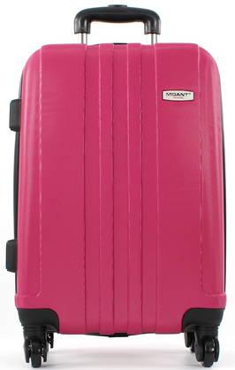 Migant Suitcase Small, Fuchsia - Travel bags - 108020 - 1