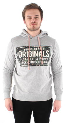 Jack & Jones Huppari Magic harmaa - Hupparit - 118760