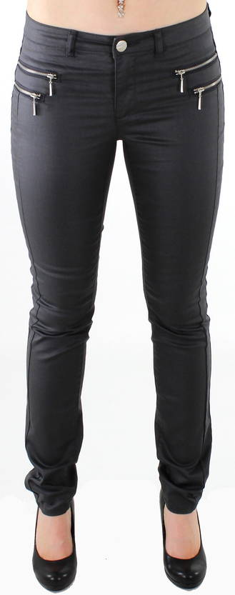 Only Legginsit Olivia coated asphalt - Legginsit - 112420 - 1