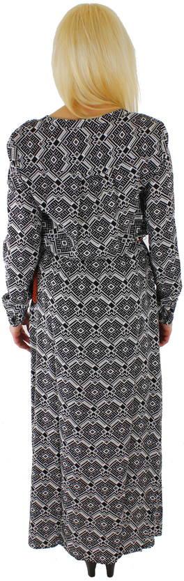 Only Mekko Iris long dress musta l.valk - Stiletto.fi verkkokauppa 6056daec88