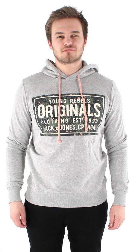 Jack & Jones Huppari Magic harmaa - Hupparit - 118760 - 1