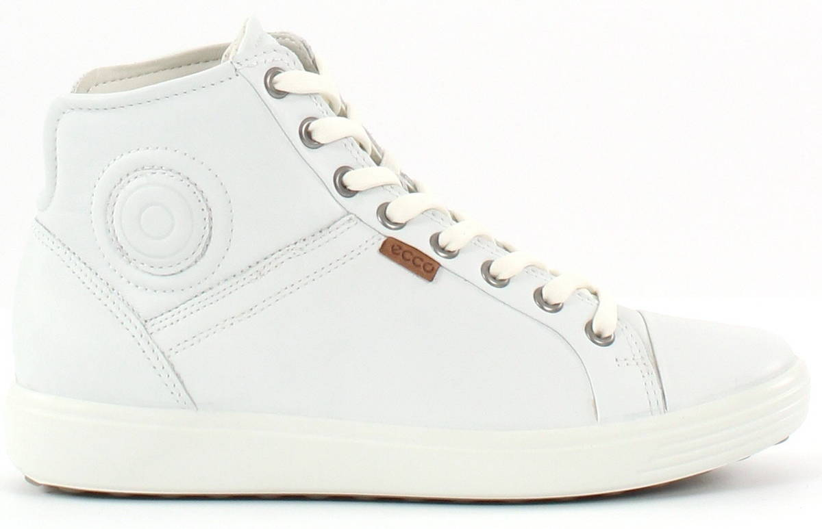 Ecco tennarit Soft 7 valkoinen - Stiletto.fi verkkokauppa 26a3557e14
