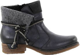 Rieker Ankle boots 79693-14 blue - Ankle boots - 116491 - 1