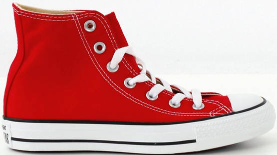 Converse All Star Hi punainen - Tennarit - 113261 - 1