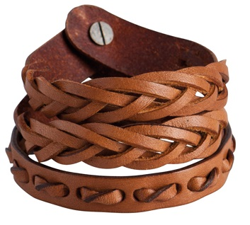 Käsikoru Pieces Sabi leather bracelet - Rannekorut - 111661 - 1
