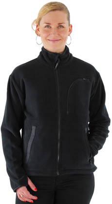 Jobman Fleece jacket  9900 black - Light jackets - 112162 - 1