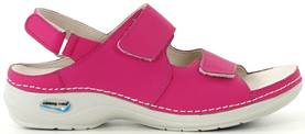 Nursing Care Machine washable sandals WG909 fuchsia - Work shoes - 112202 - 1