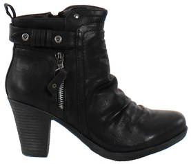 Migant Ankle Boots A920-94 black - Ankle boots - 117392 - 1
