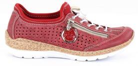 Rieker kävelykengät punainen - Kävelykengät - 123102 - 1 0840566c22