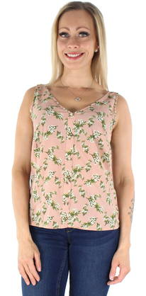 Vero Moda Toppi Sasha s/l Button rose - Topit - 124042 - 1