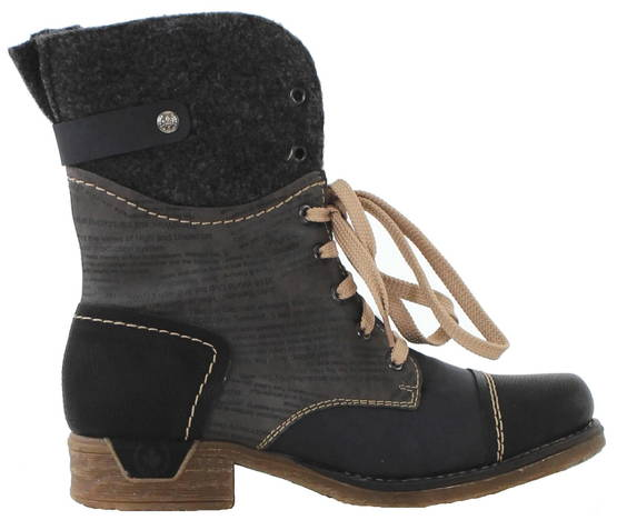 Rieker Ankle boots 79624-00, Grey - Ankle boots - 119262 - 1