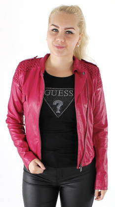 Guess Leather jacket W62L09L0GF0 - Leather jackets - 116553 - 1