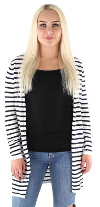 Vila Cardigan Starly Stripe - Knitwear - 119103 - 1