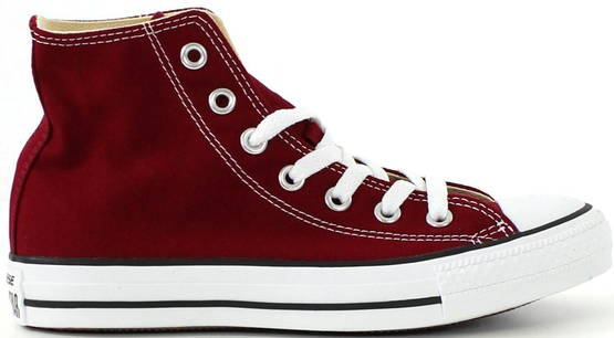 Converse All Star canvas Hi viininpun. - Tennarit - 111013 - 1
