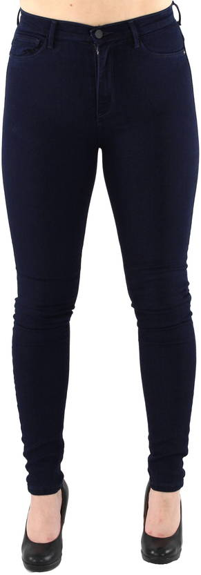 Only Jeans Rain High Skinny 1050, Dark Blue - Jeans - 119793 - 1