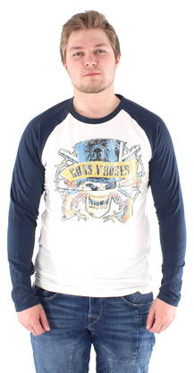 Jack & Jones Shirt Guns 'n Roses - Long sleeved shirts - 119234 - 1