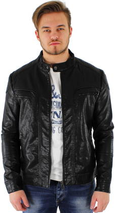 Only&Sons Niels pu jacket musta - Takit - 113465 - 1