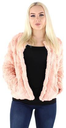 Vero Moda Jacka Curl short fur rose - Lätta jackor - 120325 - 1