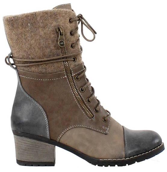Rieker Ankle Boots 92534-14, Beige - Ankle boots - 119555 - 1