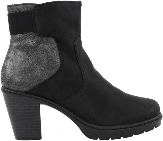 Rieker Ankle Boots Y1560-00, Black - Ankle boots - 119595 - 1