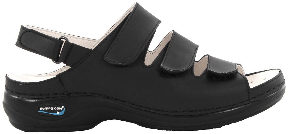 Konepestävät sandaalit nahkaa musta - Stiletto.fi verkkokauppa 6a7b05ac76