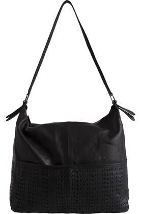 Pieces Nahkalaukku Natalie leather bag - Käsilaukut - 114446 - 1