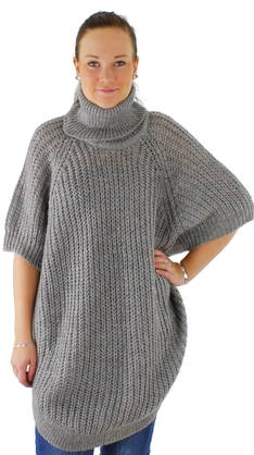 Poncho Only Ango rollneck - Neuleet - 111126 - 1