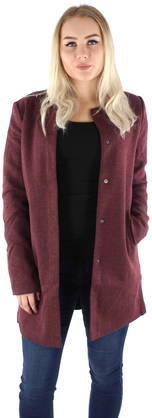 Only Takki Sidney light viininpunainen - Kevyet takit - 122056 - 1 029e7b98bd