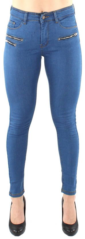 Ble Jeans push-up housut medium blue - Farkut - 119716 - 1