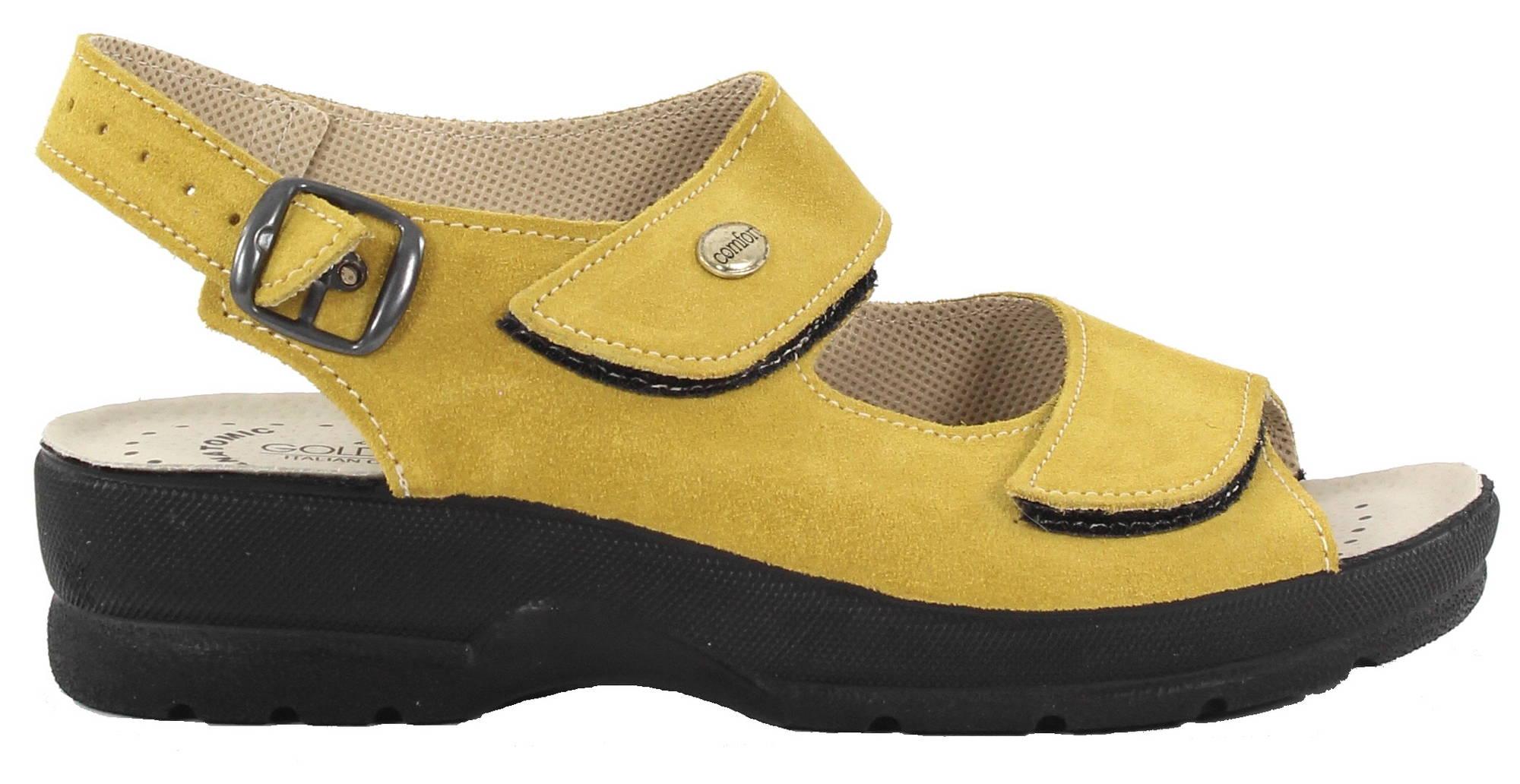 Golden Fit Sandaalit 696 musta mokka Stiletto.fi verkkokauppa