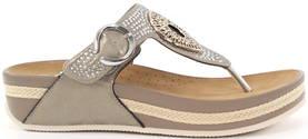 Rieker Flip-flops V1460-62 beige - Sandaler - 118257 - 1