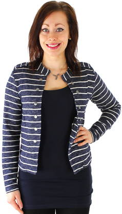 Collegejakku Only Anette Stripeblazer - Jakut - 115728 - 1