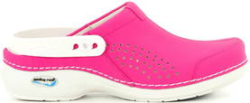 Nursing Care Machine washable clogs WG3AP09 fuchsia - Work shoes - 112318 - 1