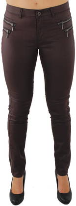Only Legginsit Olivia coated black coffe - Legginsit - 113088 - 1