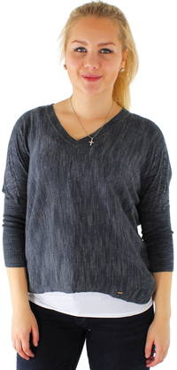Only Neule Elin 3/4 V-neck - Neuleet - 114648 - 1
