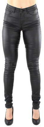 Pieces Legginsit Just wear coated musta - Legginsit - 116668 - 1