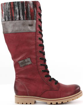 Rieker Boots Z1442-35, Red - Boots - 119718 - 1