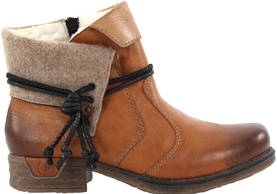 Rieker Ankle Boots 79693-24, Brown - Ankle boots - 119768 - 1