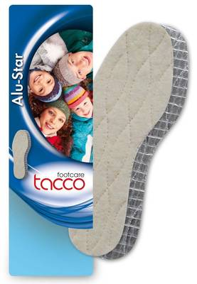 Tacco Alu-Star wool insole - Insoles - 120258 - 1