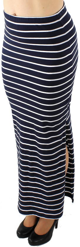 Only Abbie stripe long Maxihame - Hameet - 116178 - 1