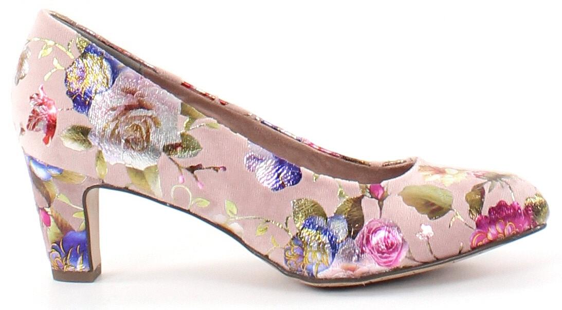 tamaris pumps 22418 20 rose flower webbutik. Black Bedroom Furniture Sets. Home Design Ideas