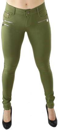Drome Zipper pants olive - Housut - 115749 - 1
