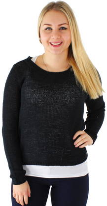 Only Neule Geena xo pullover - Neuleet - 115469