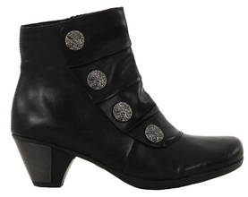 Rieker Remonte Ankle boots  D1293-01 black - Ankle boots - 114609 - 1