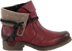 Rieker Ankle Boots 79693-36, Red - Ankle boots - 119559 - 1