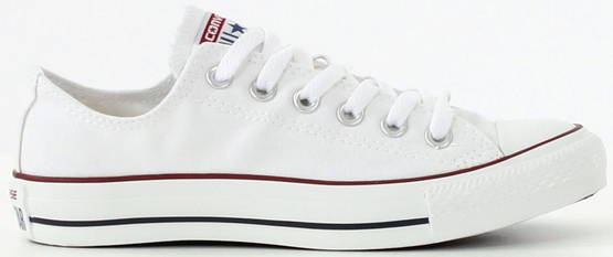 Converse All Star Canvas Ox valkoinen - Tennarit - 112079 - 1