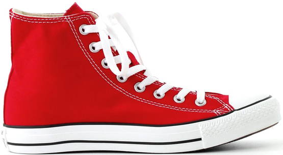 Converse All Star Hi red - Tennarit - 111929 - 1